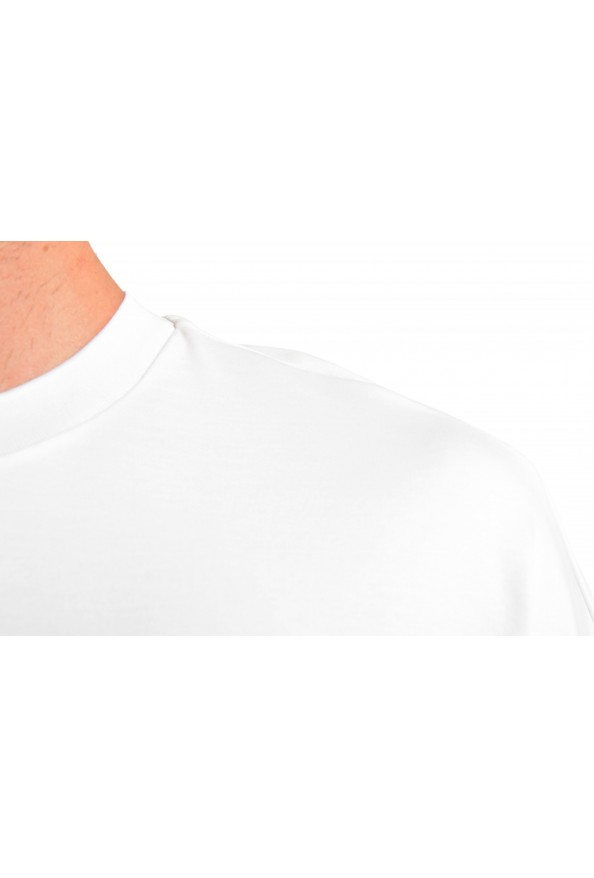 """Hugo Boss Men's """"Tames 09"""" Relaxed Fit White Crewneck T-Shirt: Picture 4"""