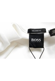 """Hugo Boss Men's """"Tames 09"""" Relaxed Fit White Crewneck T-Shirt: Picture 5"""