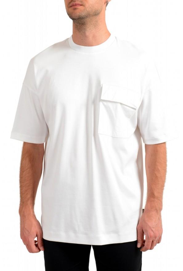 "Hugo Boss Men's ""Tames 09"" Relaxed Fit White Crewneck T-Shirt"