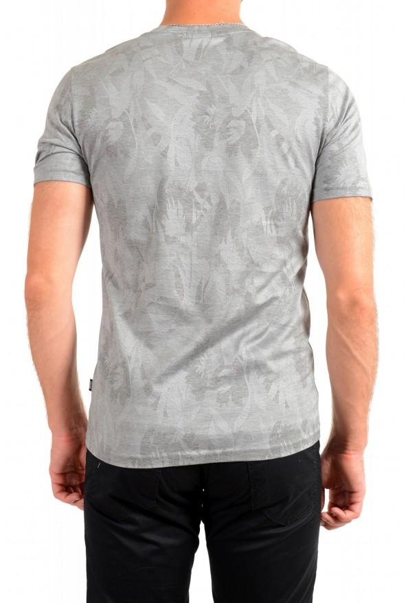 "Hugo Boss Men's ""Trssler"" Slim Fit Gray Crewneck T-Shirt: Picture 3"