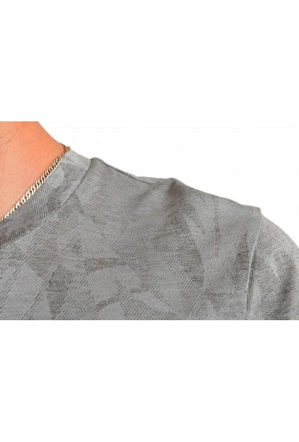 "Hugo Boss Men's ""Trssler"" Slim Fit Gray Crewneck T-Shirt: Picture 4"
