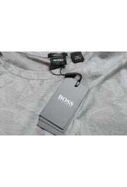 "Hugo Boss Men's ""Trssler"" Slim Fit Gray Crewneck T-Shirt: Picture 7"
