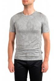 "Hugo Boss Men's ""Trssler"" Slim Fit Gray Crewneck T-Shirt"