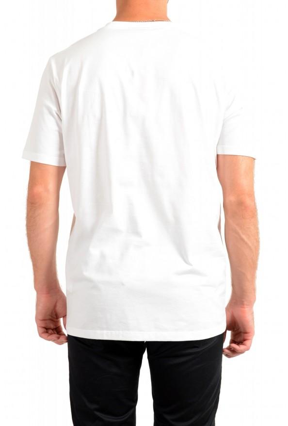 "Hugo Boss Men's ""Deginners"" White Graphic Print Crewneck T-Shirt: Picture 3"