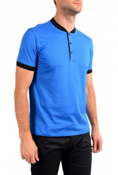 "Hugo Boss Men's ""Denots202"" Blue Crewneck Short Sleeve T-Shirt: Picture 2"
