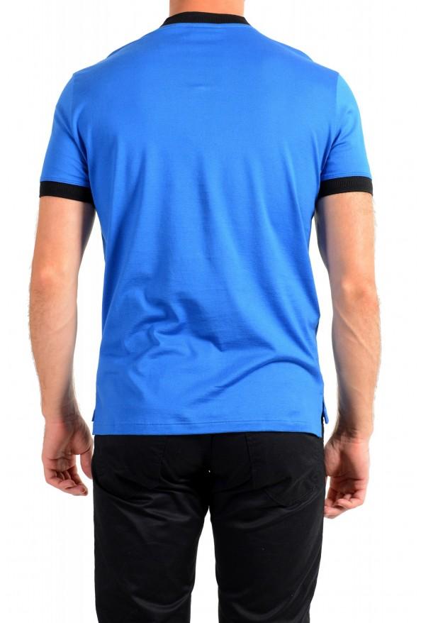 "Hugo Boss Men's ""Denots202"" Blue Crewneck Short Sleeve T-Shirt: Picture 3"