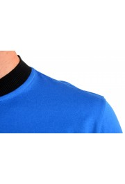 "Hugo Boss Men's ""Denots202"" Blue Crewneck Short Sleeve T-Shirt: Picture 4"