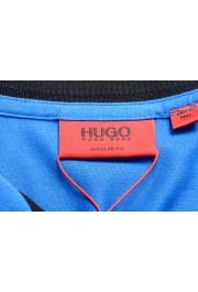 "Hugo Boss Men's ""Denots202"" Blue Crewneck Short Sleeve T-Shirt: Picture 5"