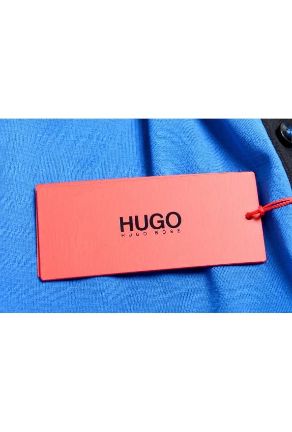 "Hugo Boss Men's ""Denots202"" Blue Crewneck Short Sleeve T-Shirt: Picture 6"