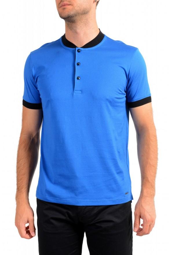 "Hugo Boss Men's ""Denots202"" Blue Crewneck Short Sleeve T-Shirt"