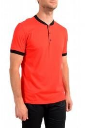 "Hugo Boss Men's ""Denots202"" Regular Fit Bright Red Crewneck Short Sleeve T-Shirt: Picture 2"