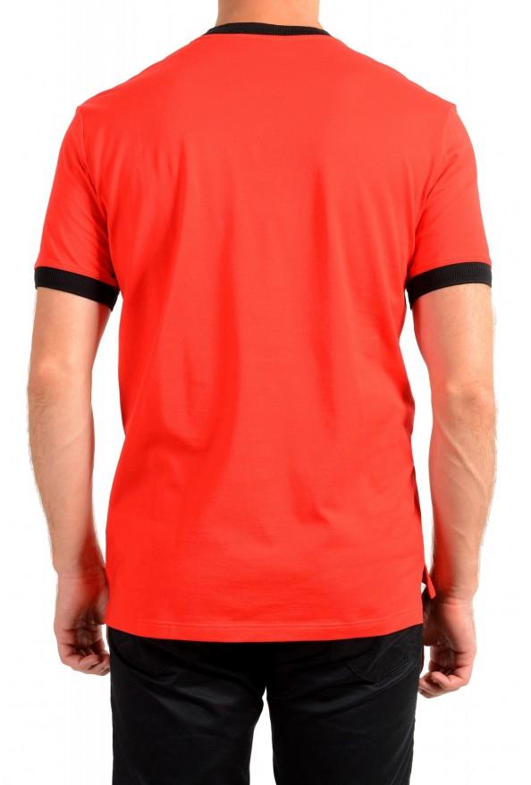 "Hugo Boss Men's ""Denots202"" Regular Fit Bright Red Crewneck Short Sleeve T-Shirt: Picture 3"