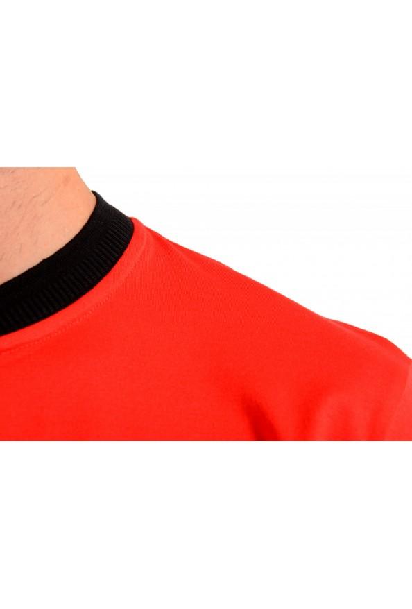 "Hugo Boss Men's ""Denots202"" Regular Fit Bright Red Crewneck Short Sleeve T-Shirt: Picture 4"