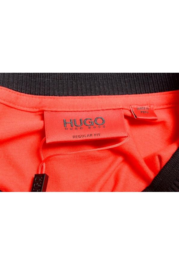 "Hugo Boss Men's ""Denots202"" Regular Fit Bright Red Crewneck Short Sleeve T-Shirt: Picture 5"