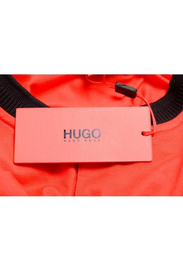 "Hugo Boss Men's ""Denots202"" Regular Fit Bright Red Crewneck Short Sleeve T-Shirt: Picture 6"