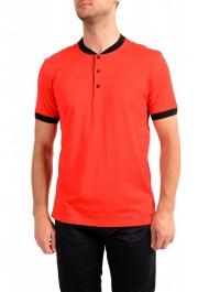 """Hugo Boss Men's """"Denots202"""" Regular Fit Bright Red Crewneck Short Sleeve T-Shirt"""
