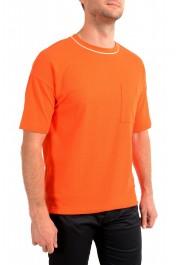 "Hugo Boss Men's ""Tames 06"" Orange Relaxed Fit Crewneck Short Sleeve T-Shirt: Picture 2"