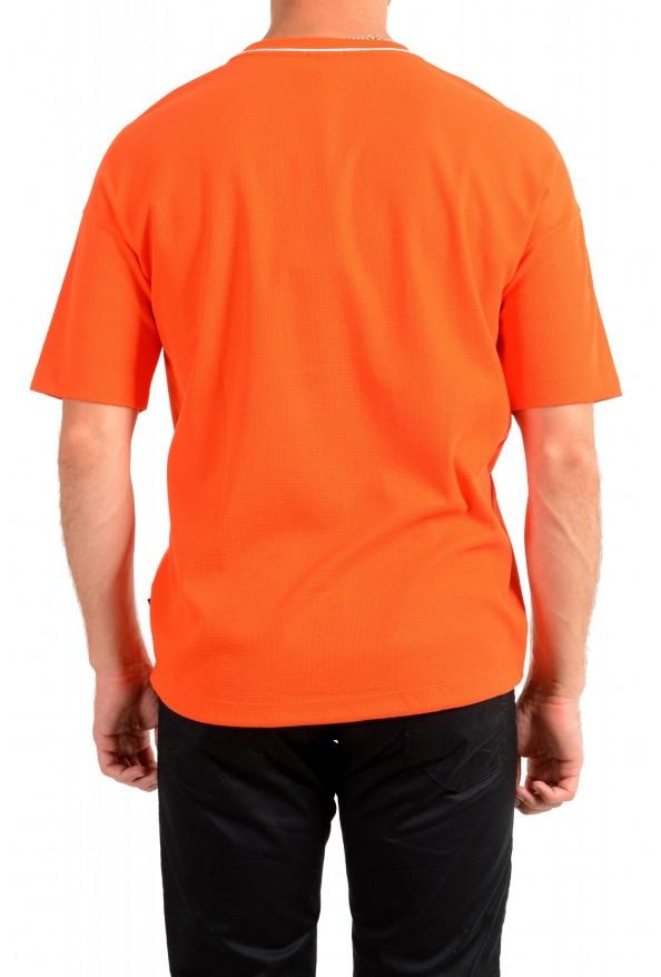 "Hugo Boss Men's ""Tames 06"" Orange Relaxed Fit Crewneck Short Sleeve T-Shirt: Picture 3"