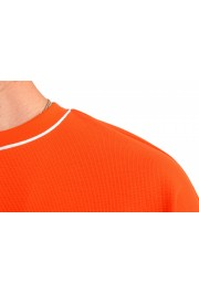 "Hugo Boss Men's ""Tames 06"" Orange Relaxed Fit Crewneck Short Sleeve T-Shirt: Picture 4"