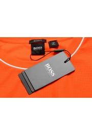 "Hugo Boss Men's ""Tames 06"" Orange Relaxed Fit Crewneck Short Sleeve T-Shirt: Picture 7"