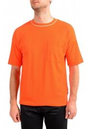 "Hugo Boss Men's ""Tames 06"" Orange Relaxed Fit Crewneck Short Sleeve T-Shirt"