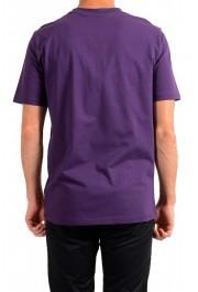 "Hugo Boss Men's ""Trek 4"" Purple Graphic Print Crewneck T-Shirt: Picture 3"