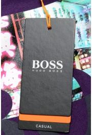 "Hugo Boss Men's ""Trek 4"" Purple Graphic Print Crewneck T-Shirt: Picture 6"