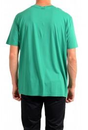 "Hugo Boss Men's ""Tomback"" Green Graphic Print Crewneck T-Shirt: Picture 3"