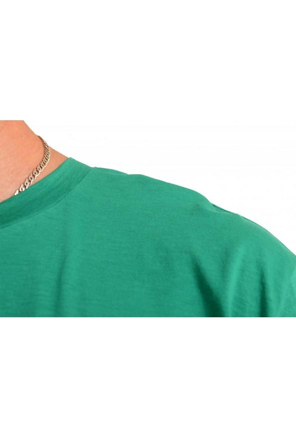 "Hugo Boss Men's ""Tomback"" Green Graphic Print Crewneck T-Shirt: Picture 4"