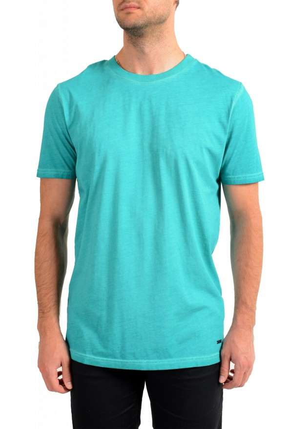 "Hugo Boss Men's ""Toxx"" Faded Green Crewneck T-Shirt"