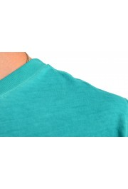 "Hugo Boss Men's ""Toxx"" Faded Green Crewneck T-Shirt: Picture 4"