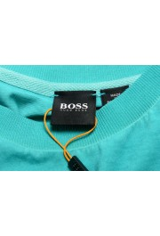 "Hugo Boss Men's ""Toxx"" Faded Green Crewneck T-Shirt: Picture 5"