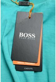"Hugo Boss Men's ""Toxx"" Faded Green Crewneck T-Shirt: Picture 6"