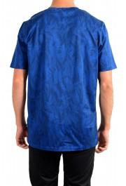 "Hugo Boss Men's ""Tessler121"" Blue Floral Print Crewneck T-Shirt: Picture 3"