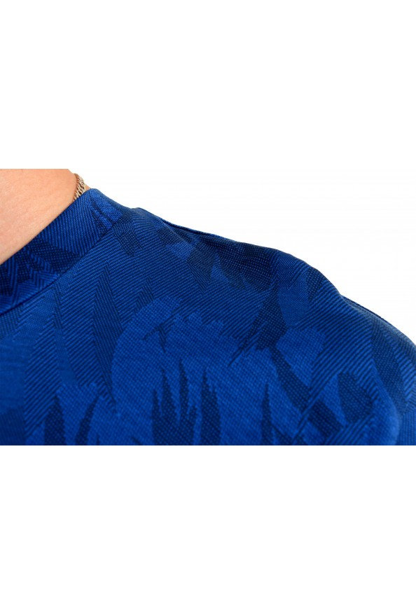 "Hugo Boss Men's ""Tessler121"" Blue Floral Print Crewneck T-Shirt: Picture 4"