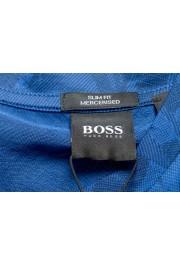 "Hugo Boss Men's ""Tessler121"" Blue Floral Print Crewneck T-Shirt: Picture 5"