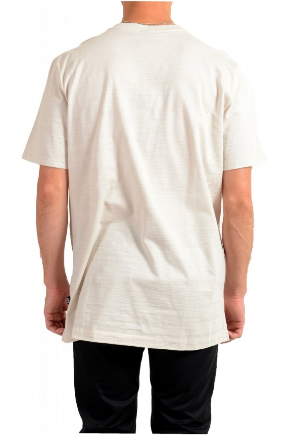 """Hugo Boss Men's """"Tilson 100"""" Regular Fit Beige V-Neck T-Shirt: Picture 3"""