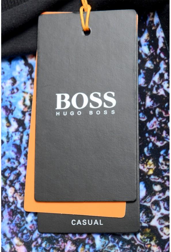 "Hugo Boss Men's ""Teyne"" Black Graphic Print T-Shirt: Picture 6"