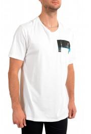 """Hugo Boss Men's """"Tiburt145"""" White Graphic Print Casual T-Shirt : Picture 2"""