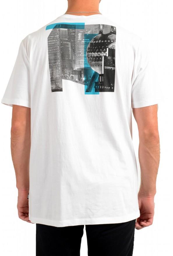 """Hugo Boss Men's """"Tiburt145"""" White Graphic Print Casual T-Shirt : Picture 3"""