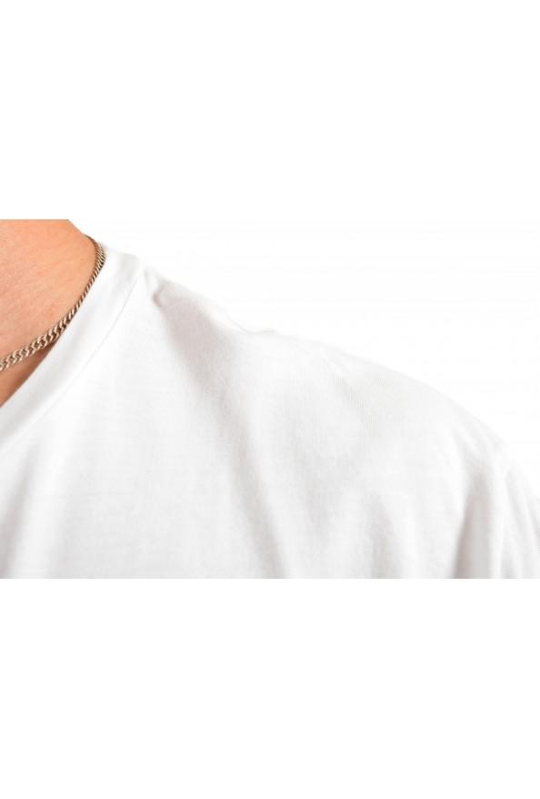 """Hugo Boss Men's """"Tiburt145"""" White Graphic Print Casual T-Shirt : Picture 4"""