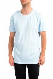 "Hugo Boss Men's ""Toxx"" Faded Blue Crewneck T-Shirt"