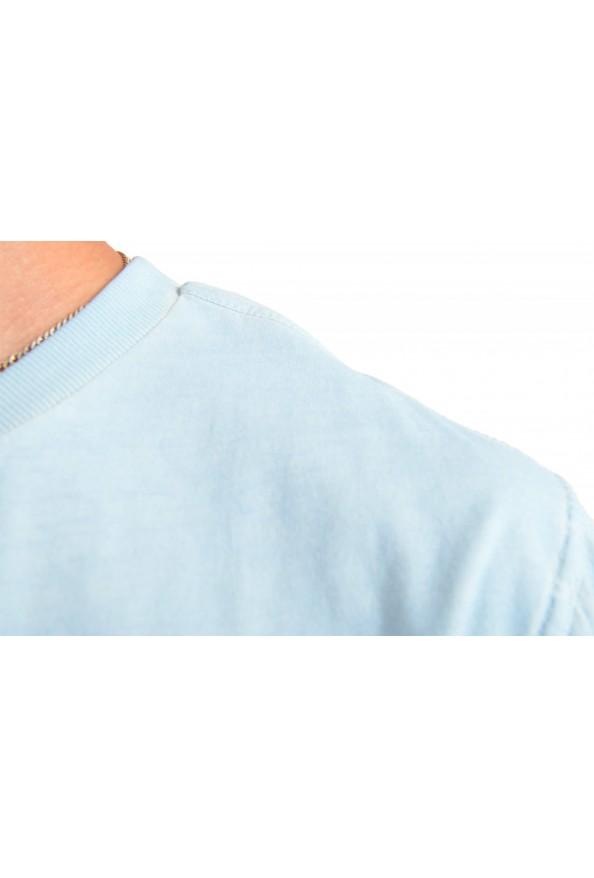 "Hugo Boss Men's ""Toxx"" Faded Blue Crewneck T-Shirt : Picture 4"