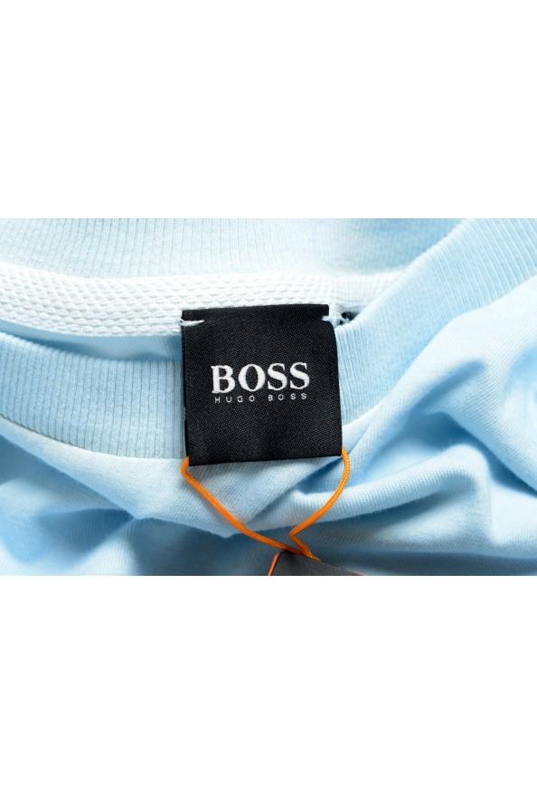 "Hugo Boss Men's ""Toxx"" Faded Blue Crewneck T-Shirt : Picture 5"