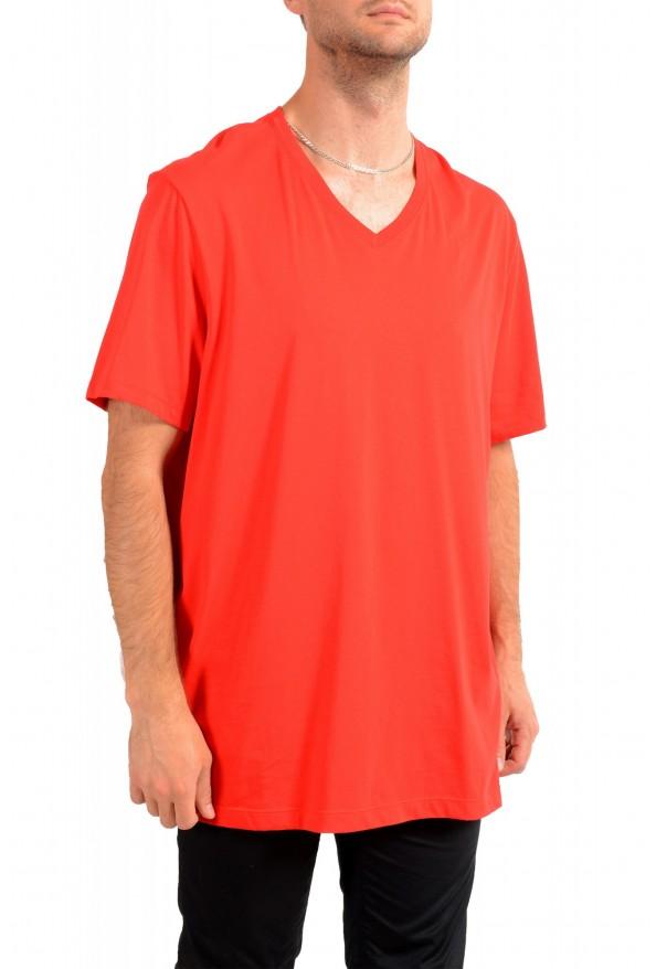 """Hugo Boss Men's """"Tilson 55"""" Regular Fit Red V-Neck T-Shirt: Picture 2"""