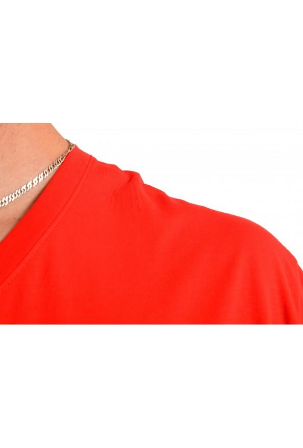 """Hugo Boss Men's """"Tilson 55"""" Regular Fit Red V-Neck T-Shirt: Picture 4"""