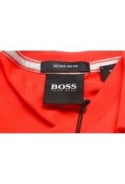 """Hugo Boss Men's """"Tilson 55"""" Regular Fit Red V-Neck T-Shirt: Picture 5"""