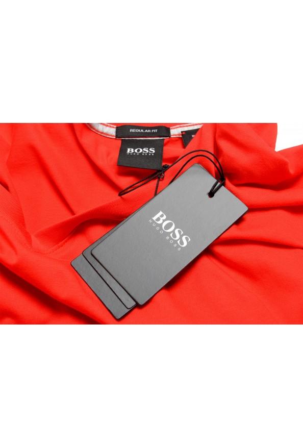 """Hugo Boss Men's """"Tilson 55"""" Regular Fit Red V-Neck T-Shirt: Picture 7"""