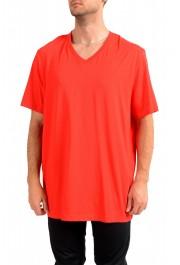 """Hugo Boss Men's """"Tilson 55"""" Regular Fit Red V-Neck T-Shirt"""