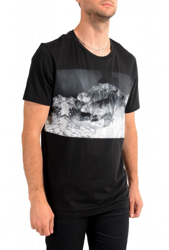 "Hugo Boss Men's ""Tessler 127"" Black Graphic Print Slim Fit T-Shirt: Picture 2"